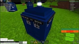 Doctor Who| Roblox Gameplay