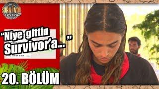 Melisa Ve Sevgilisinin Yazışmasını Canlandırdılar   20. Bölüm   Survivor Ekstra