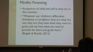 STAR Trainings at Kennedy Krieger: Mindful Parenting
