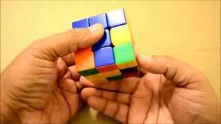 Rubik's cube 2nd Row Easy way (Hindi)