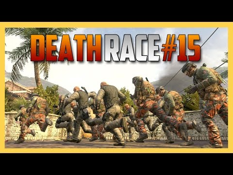 Death Race #15 - TIGHT SQUEEZE! (Deadly Foot Race in Call of Duty Black Ops 2) | Swiftor