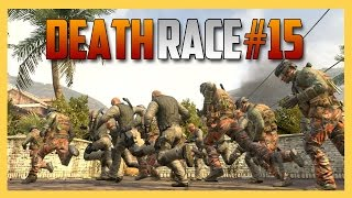 Death Race #15 - TIGHT SQUEEZE! (Deadly Foot Race in Call of Duty Black Ops 2)