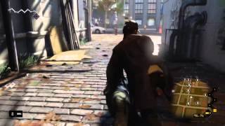 Watch Dogs gameplay PS4