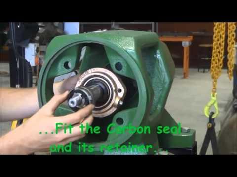 Centrifugal Pump Seals - Mechanical Seal Installation