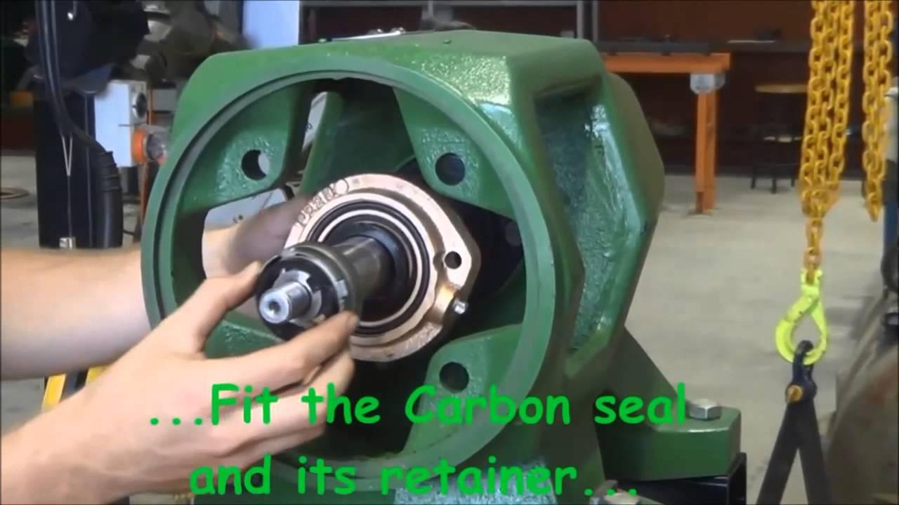 Centrifugal Pump Mechanical Seal Diagram Elbow Anatomy Seals Installation Youtube