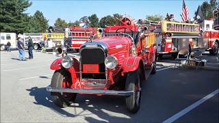 A Walk About Minnie, A 1930 Brockway Firetruck, With Buddy