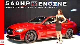 Infiniti Q50 Eau Rouge concept 2014 Videos