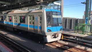 【現時点で最終編成】小田急4000形4066編成 登戸発車