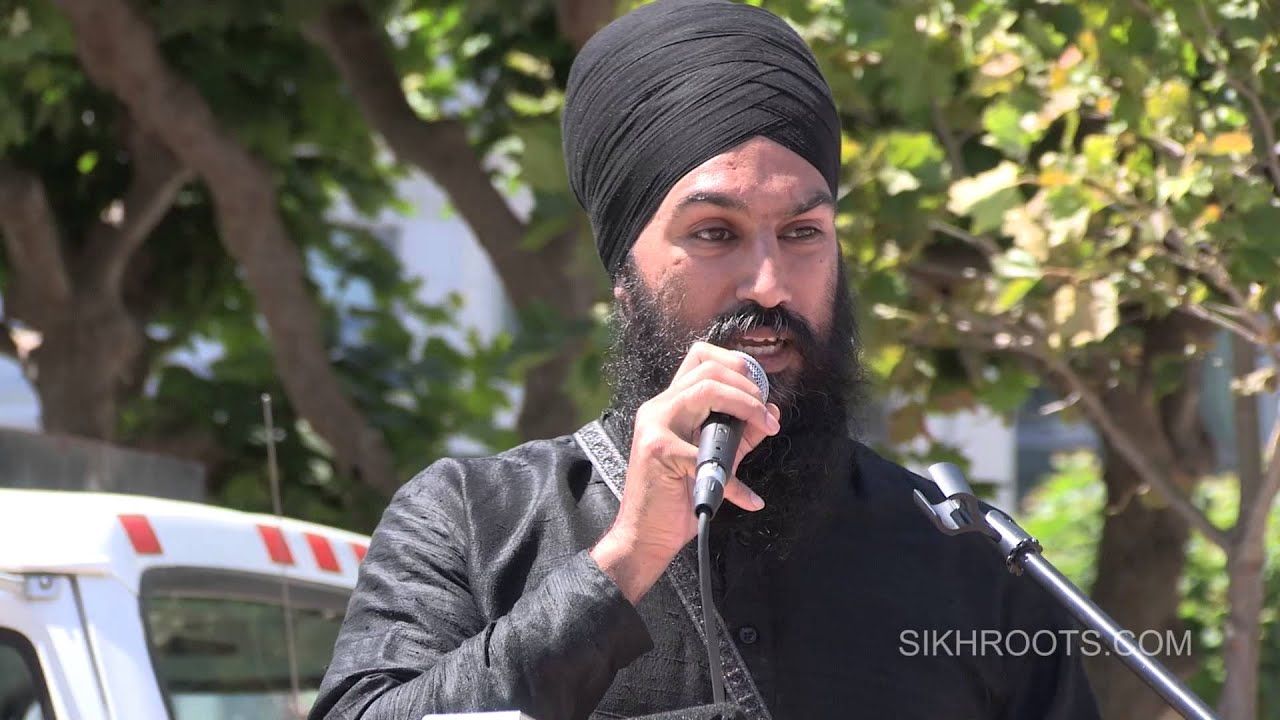 Bhai Jagmeet Singh - March for Freedom - San Francisco 2015