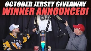 October Jersey Giveaway Winner Announced!