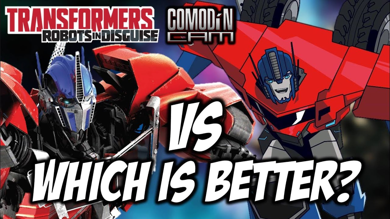 Which Optimus Prime Is Better Transformers Prime Vs Robots In Disguise Comparison Video
