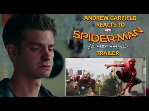 Andrew Garfield reacts to Spider-Man: Homecoming Trailer