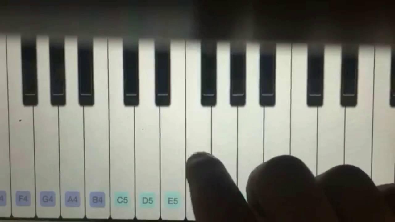 كيف تعزف نسم علينا الهوى واغنية ماريو على البيانو بالعرض البطيئ Youtube