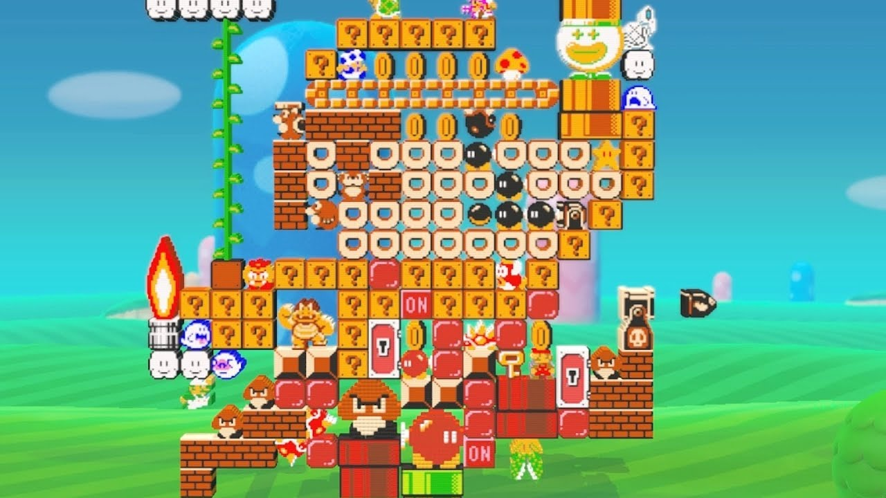 Super Mario Maker 2 - Secret Final Level + Ending