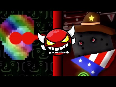 Another top 5 weird geometry dash boss battles