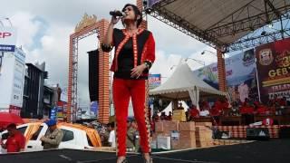 Ike Nurjanah dan Susi Bintang Pantura meriahkan jalan sehat Pemkot