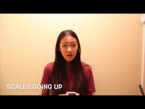 A Cappella Academy Audition 2017 - Katherine Ho