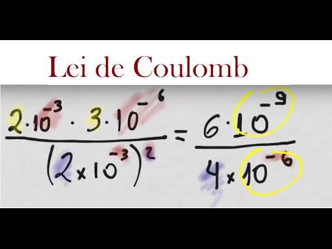 Notação Científica e a Lei de Coulomb