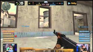 "#1 BGL Arena 2014 » AceZone vs Team Game7 « ""CrossFire"""