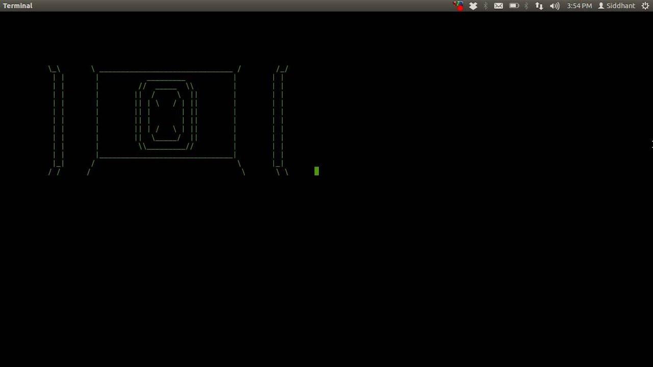 Star wars linux terminal