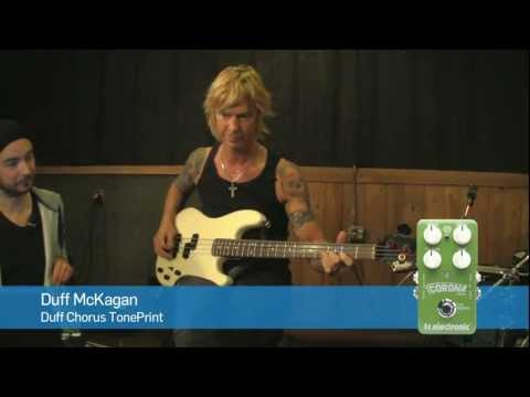 Duff McKagan's Chorus Corona TonePrint