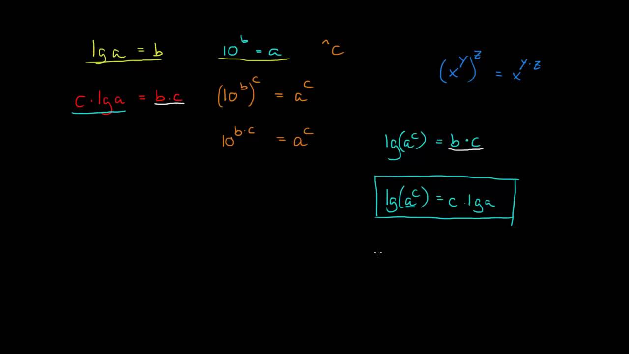 2.1 - Bevis for logaritme-regneregel 1 (R1)