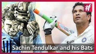 #fame cricket - Sachin Tendulkar Talked  to his Bats : Harsha Bhogle