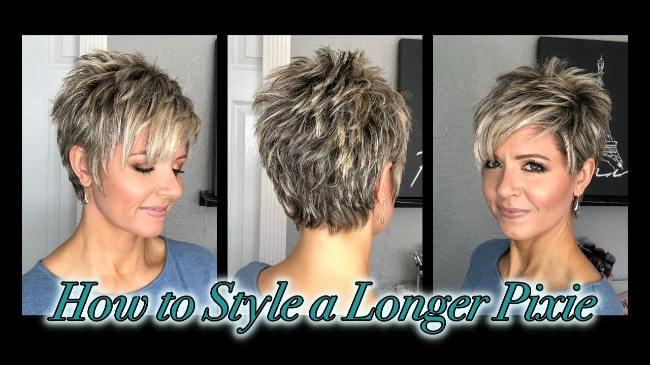 Hair Tutorial: Styling A Longer Pixie Without Spikes