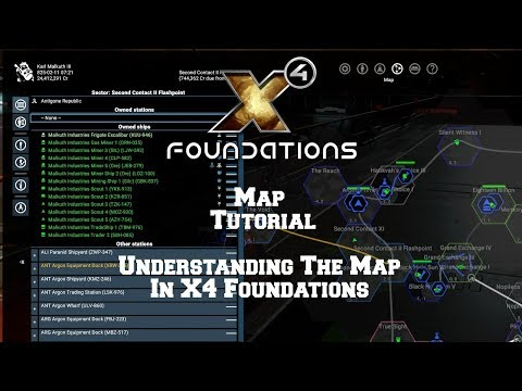 Map Tutorial Understanding The Map In X4 Foundations.