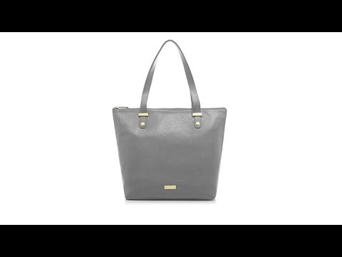 JOY Luxe Leather LizardEmbossed City Collection Handbag ... - YouTube 0a06f6c947