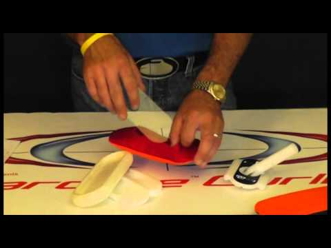 Hardline Curling - Replacing The IcePad Cover