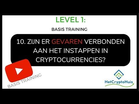 [LEVEL 1] 10. Zijn er gevaren verbonden aan het instappen in Cryptocurrency? | Basis training |