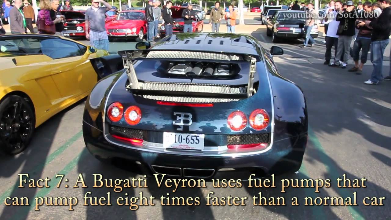 Bugatti Veyron: Top 10 Interesting Facts! - YouTube