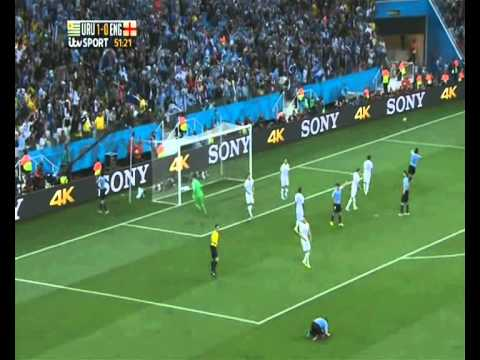 2014 World Cup Group D: Uruguay v England