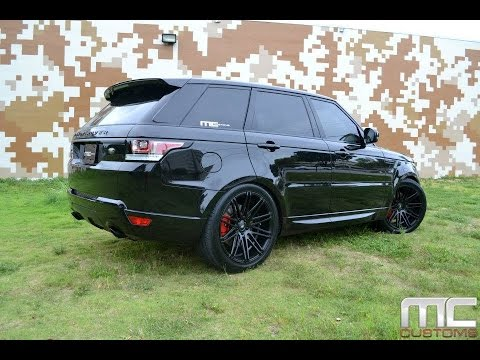 Range Rover Sport On Xo Luxury Milan Wheels Done By Mc