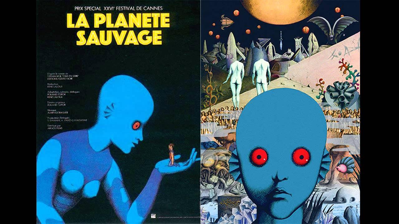 """Wurde 1973 beim Festival in Cannes mit einem Spezialpreis der Jury ausgezeichnet: """"La Planète sauvage"""""""