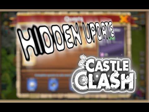 Castle Clash: Hidden Update In Candy Kane Update.