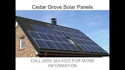 Solar Panels in Cedar Grover NJ   609 383 4323
