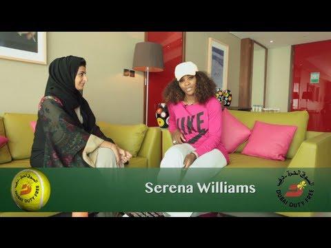 Serena Williams | Dubai Full of Surprises Travel Show | Dubai Duty Free