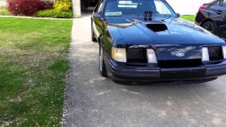 HotRodHarrys 1985 SVO Mustang Competition Prep Turbo For Sale