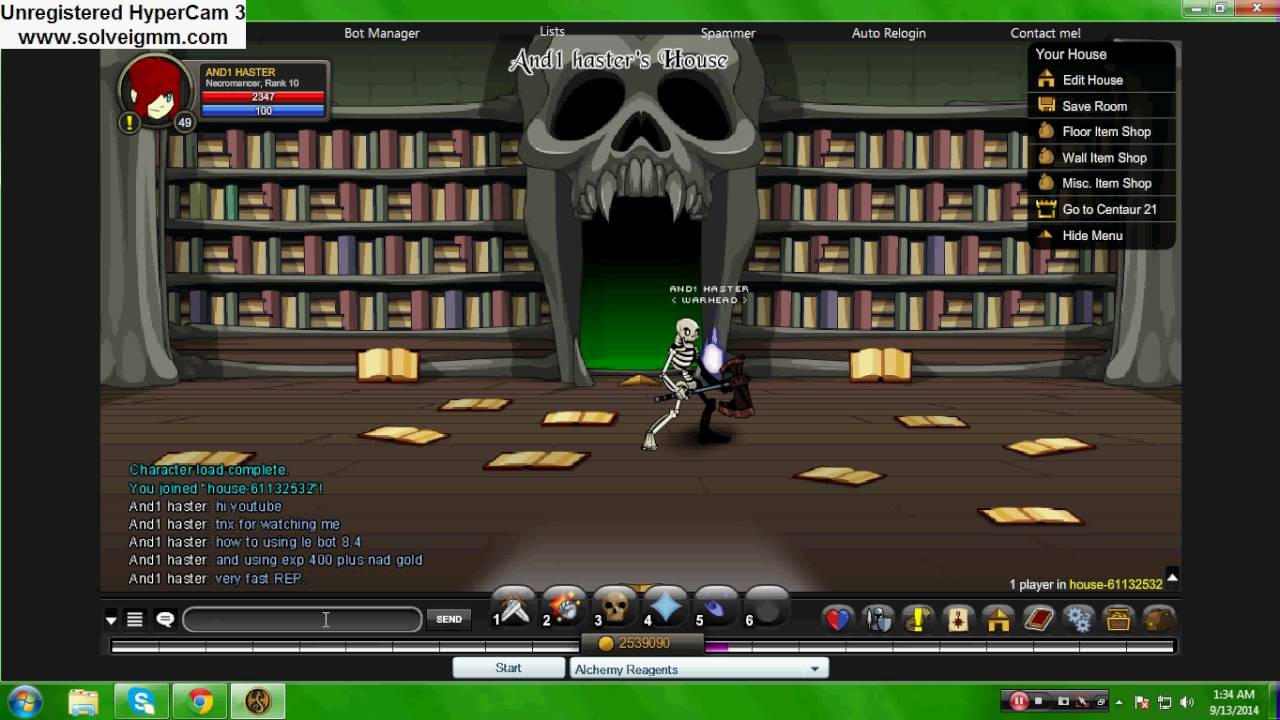 AQW hack le bot 8.4 free download - YouTube