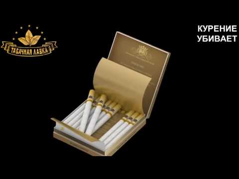Обзор на сигареты Sobranie Golds |девочкам| - YouTube