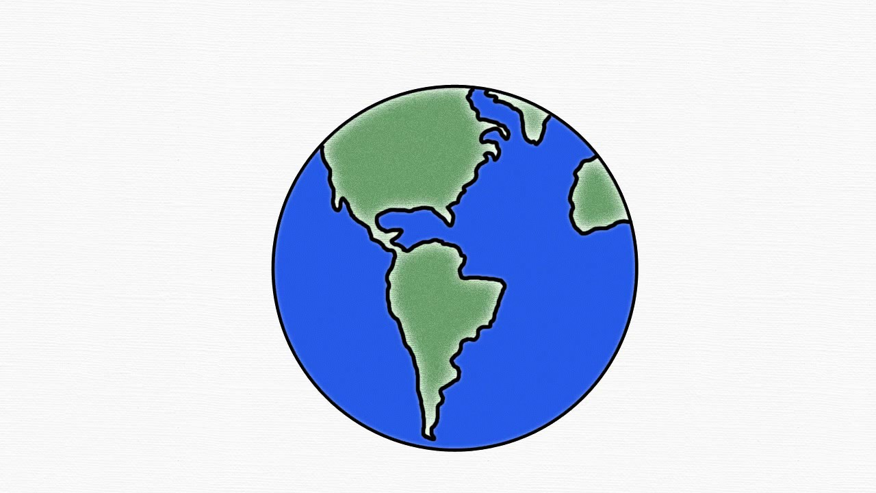 How to draw earth save earth earth day easy draw for Easy to draw earth