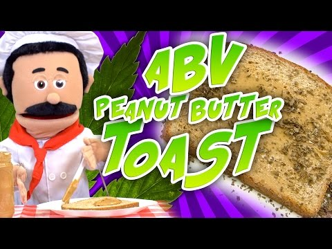 ABV Weed Peanut Butter Toast