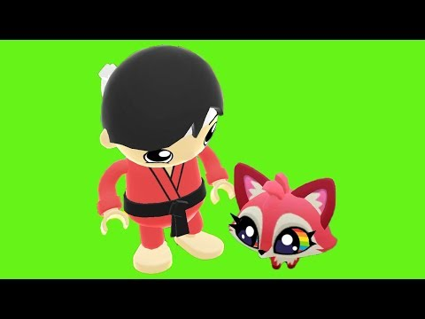Tag with Ryan - Taekwondo Ryan vs Dash Tag -  Roxy