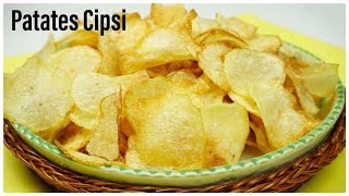 Secrets of making crispy potato chips at home / yummy recipes / Figen Ararat