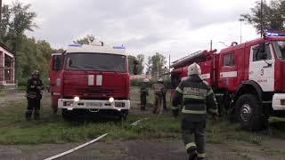 19 09 10 В Абакане прозвучала пожарная тревога на базе сжиженного газа