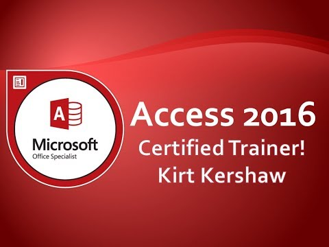 Microsoft Access 2016 Tables: Lookup Data Field