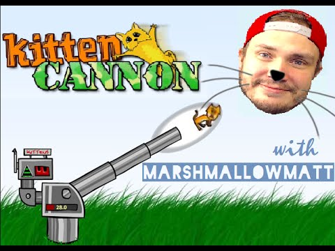 LAUNCH SOME CATS WITH ME!! | Kitten Cannon [Flash Game W/Commentary]