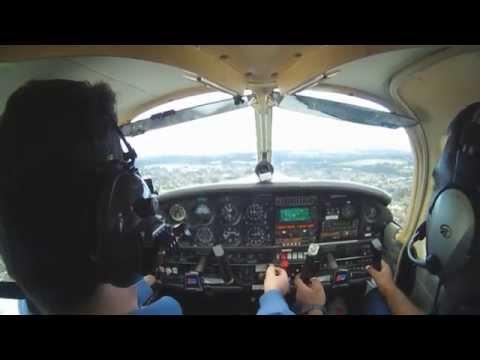Flying a Piper Archer. Part 1 YSRI to YSBK